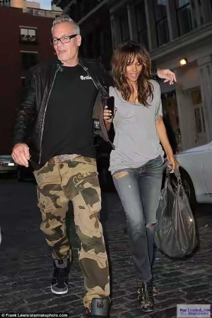 Halle Berry Ignites Romance Rumours As She Cuddles Mystery Man In NYC